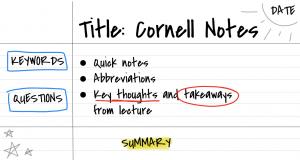 Cornell Not Alma Tekniği